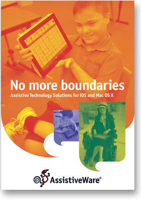AssistiveWare brochure cover