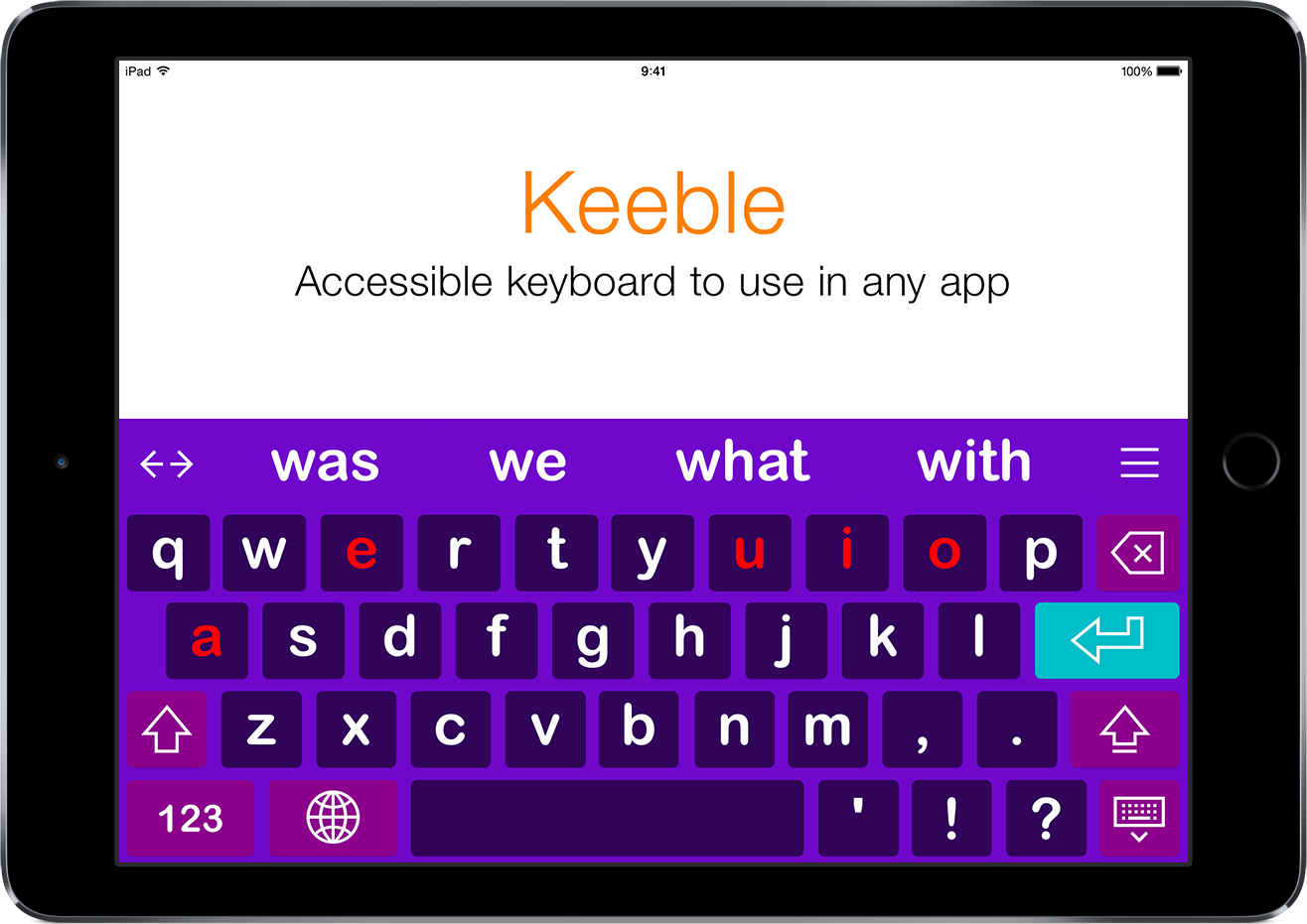 AssistiveWare's Keeble 3.0 makes typing more accessible on iOS Image
